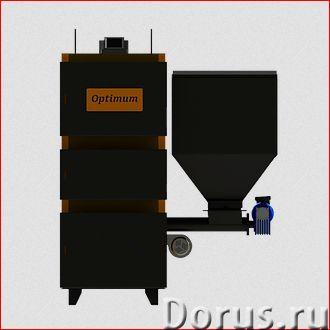 Автоматические котлы Optimum Uni-Max 148-298 кВт - Промышленное оборудование - Пеллетно-угольные про..., фото 1